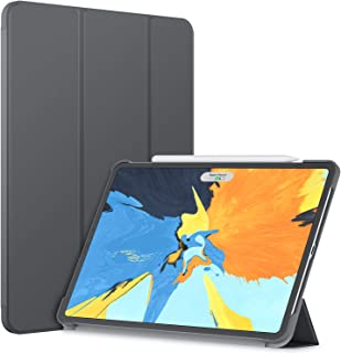 JETech Case for iPad Pro 11-Inch 2018 Model (NOT for 2020 Model), Compatible with Pencil, Cover Auto Wake/Sleep, Dark Grey