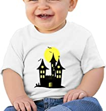 Cute-halloween Cool Graphic Baby O-neck Short Sleeve Cotton