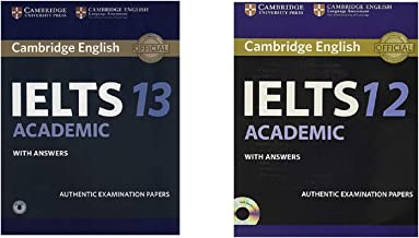 Cambridge English Ielts 12 And 13 Academic Book Combo With Answers Authentic Examination Papers