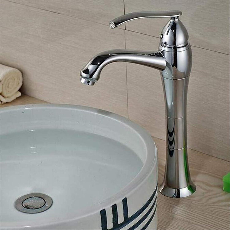 Faucet Luxury Plated Kitchen Bathroom Faucet Faucet Washbasin Mixer Deck Mount Modern Single Handle Basin Vessel Sink Faucet One Handle Single Hole Mixer Taps