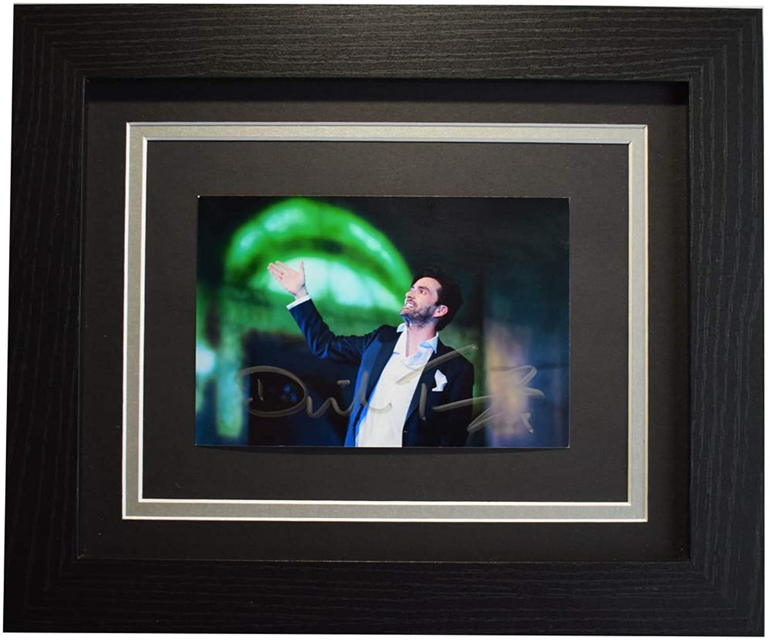 Sportagraphs David Tennant Signed 10x8 Framed Photo Autograph Display Don Juan Dr who COA