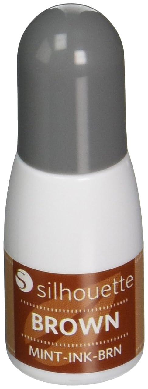 Silhouette Mint Ink, Brown vijnkjrujvpuw894