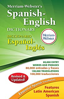 Merriam-Webster's Spanish English Dictionary