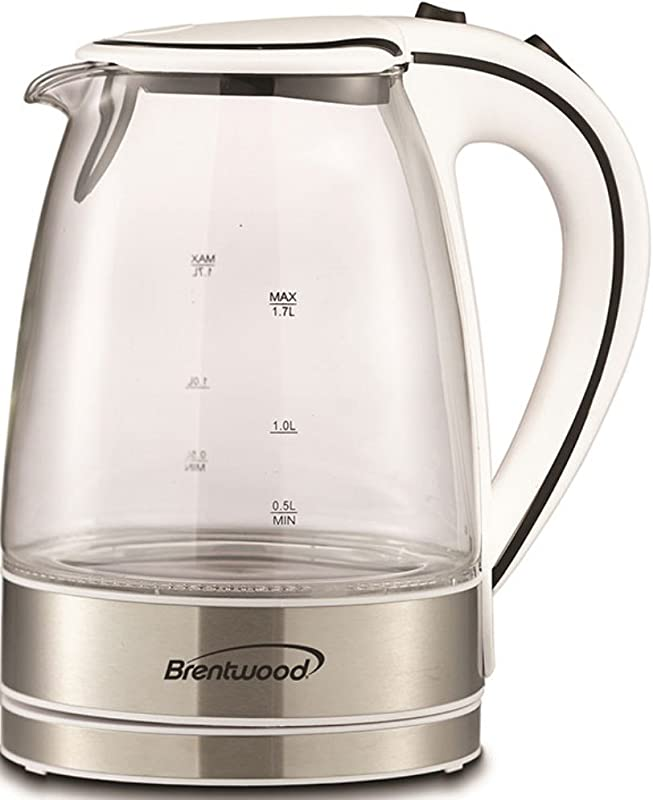 Brentwood 1 7 Liter Kt 1900 W Royal Glass Electric Tea Kettle
