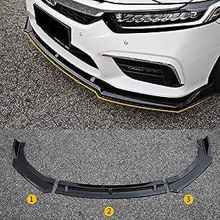 Car Refit Front Bumper Front Lip Bodykit for Honda inspire (black)