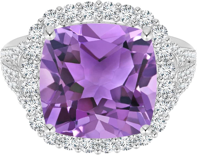 Shine Jewel 925 Silver Classic 1.3 Amethyst Cushion discount Gemstone CTW Surprise price