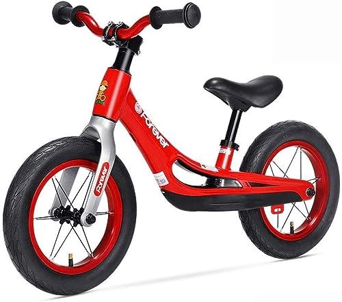 minoristas en línea FJCB Niños Competencia Equilibrio Bicicleta Bicicleta Bicicleta No Pedal Traning Marco de aleación de magnesio Niños Equilibrio Racing Bicicleta Ajustable Manillar y Asiento for Niños de 1-3 a 6 años Regalo  hermoso