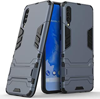 Case for Samsung Galaxy A70 (6.7 inch) 2 in 1 Shockproof with Kickstand Feature Hybrid Dual Layer Armor Defender Protectiv...
