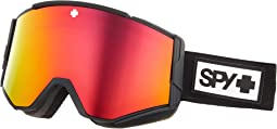 Matte Black HD Plus Bronze w/ Red Spectra Mirror