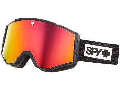 Spy Optic Ace (Matte Black HD Plus Bronze w/ Red Spectra Mirror) Goggles