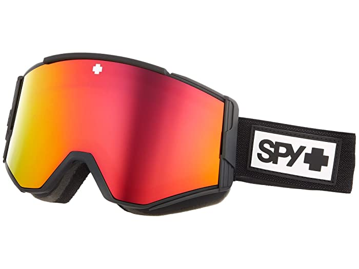 Ace  Shoes (Matte Black HD Plus Bronze w/ Red Spectra Mirror) Goggles