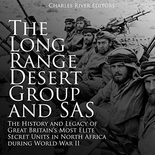 The Long Range Desert Group and SAS audiobook cover art