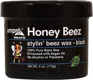 Ampro Honey Beez Wax 4oz- Black