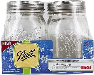 Ball 69056 Pint-Size USA Keepsake Jars 4-Pack