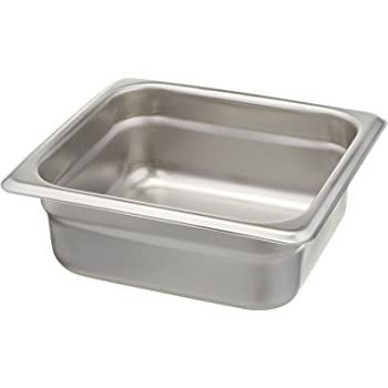 1//6 by 6-Inch Winco SPJM-606 Anti-Jamming Steam Pan 24-Gauge
