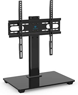 PERLESMITH Universal TV Stand – Table Top TV Stand for 37-55 inch LCD LED TVs..