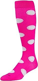 Krazisox Polka Dot Over The Calf Socks