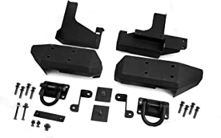Rugged Ridge 11547.01 Textured Black Aluminum Rear XHD Bumper Pod - Pair