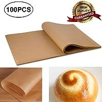 AJSPOW 12x16 Unbleached Baking Premium Parchment Paper