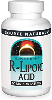 Source Naturals R-Lipoic Acid 50mg, 60 Tablets