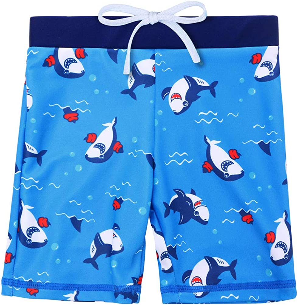 HUAANIUE Baby Toddler Boy Swimsuit Rashguard Set Swimwear UPF 50+