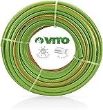 VITO Garden 50 m PVC Gartenschlauch 32mm 1 1/4' flexibel 20bar UV beständig - Wasserschlauch (50m 32mm 1 1/4')