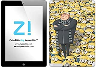 Zing Revolution Despicable Me 2 - Gru's Minions Tablet Cover Skin for iPad 4/3 (MS-DMT30351)