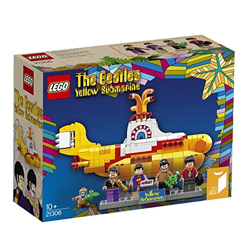 LEGO IDEAS 21306, The Beatles, Yellow Submarine