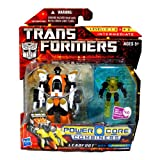 Transformers Power Core Action Figure 2Pack Leadfoot with Pinpoint