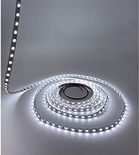 LEDMY DC12V Flexible Led Strip Light String Light Led Tape SMD5050 300LEDs IP20 String Light Cool White 6000K 16.4FT/5M (7...