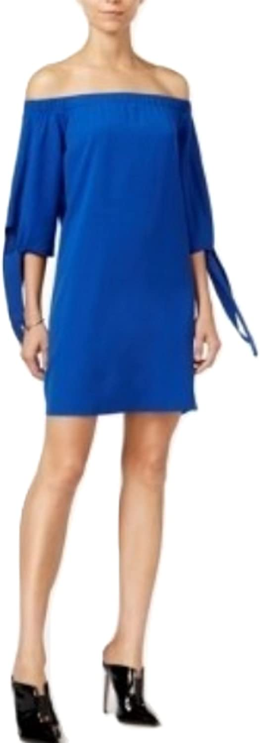 Bar III OffTheShoulder Shift Dress