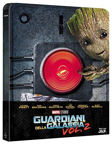Guardiani Della Galassia Vol. 2 (3D) (Ltd Steelbook) (Blu-Ray 3D+Blu-Ray) [Italia] [Blu-ray]