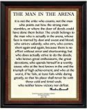 12 x 15 Wood Framed Motivational Quote by Theodore...