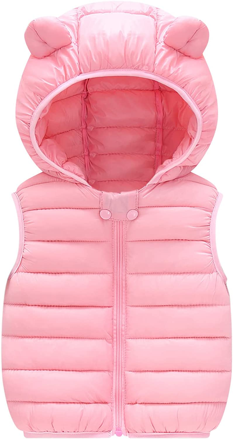 Girls Outlet sale feature Max 82% OFF Boys Winter Warm Vest Thicken Sleeveless Solid Wais -