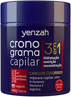 CRONOGRAMA CAPILAR 3 EM 1 - MÁSCARA COLORIDOS - 480G