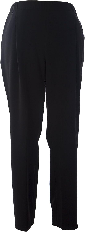 Marina Rinaldi Women's Radici Pants W Side Stripe Black