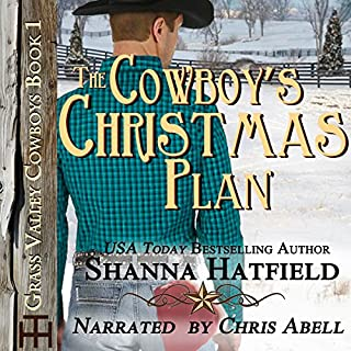 The Cowboy's Christmas Plan                   By:                                                                                                                                 Shanna Hatfield                               Narrated by:                                                                                                                                 Chris Abell                      Length: 9 hrs and 8 mins     3 ratings     Overall 4.7