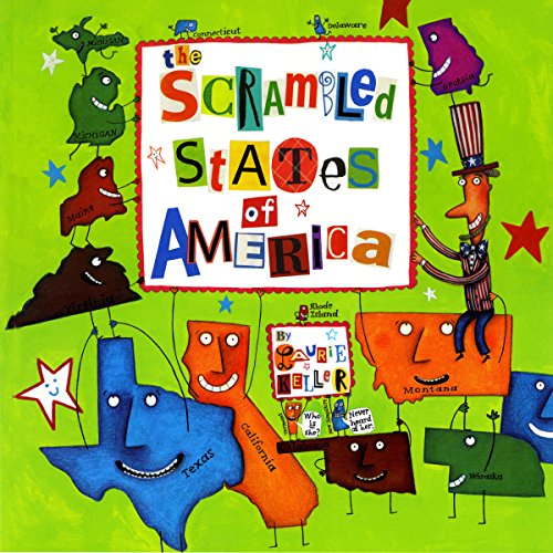 Scrambled States of America audiobook cover art