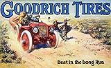 Tire Advertisement C1915 Namerican Merchants Trade Card C1915 for BF Goodrich Company Auto