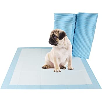 """BV Pet Potty Training Pads for Dogs Puppy Pads, Quick Absorb, 22"""" x 22"""", 100-Count"""