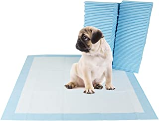 "BV Pet Potty Training Pads for Dogs Puppy Pads, Quick Absorb, 22"" x 22"", 100-Count"