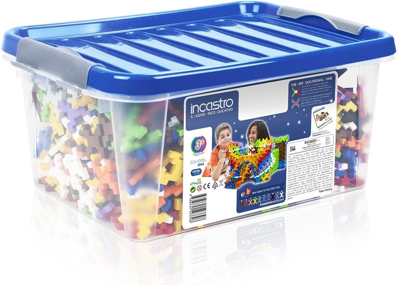 INCASTRO (044–Spiel-Bau (Box, 1000Stück, Mehrfarbig