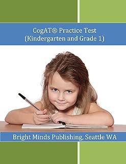 Cogat Practice Test (Kindergarten and Grade 1)