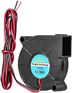 Aibecy 3D Printer DC 12V 5015 Blower Radial Turbo Cooling Fan