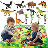 Dinosaur Toys, Dinosaur Toys for Kids 3-5, Educational Games Toys for 4 Year Old Boys Toddler Toys Age 2-4 Birthday Gift for 3-7 Year Old Boys Girls Best Ideas Gifts for Boys Kids Age 2-6