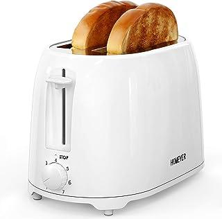 Tostapane Homever Tostapane 2 fette, tostapane con 7 impostazioni di temperatura, Il trogolo del pane si è espanso, 900 W,...
