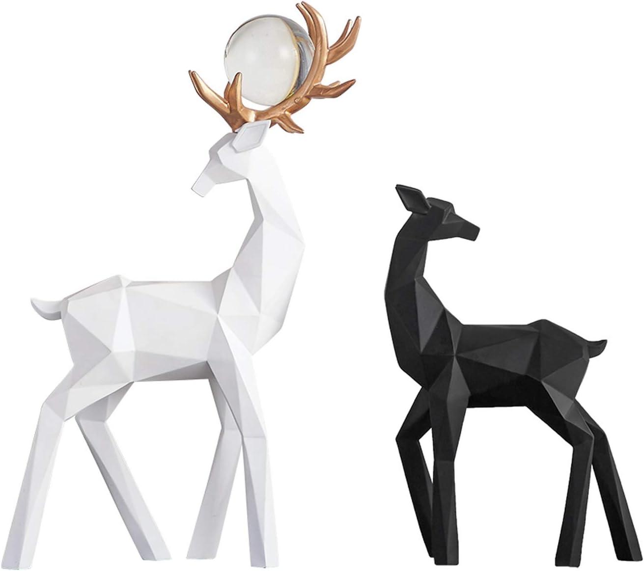 wanhaishop Under blast 70% OFF Outlet sales Desktop Decoration Feng Shui Statue Decora Lucky Deer