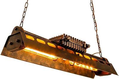 KJLARS Lámpara de Techo Vintage Lámparas de araña Luces E27 Bombilla, lámpara de estilo industrial Iluminación colgante Es Adecuado para Cocina, Cafetería, Bar, mesa de comedor: Amazon.es: Iluminación