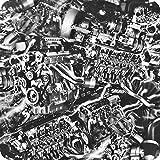 PELÍCULA DE WATER TRANSFER PRINTING - HIDROIMPRESION - HIDROGRAFIA HYDRAWTP HYDROGRAPHIC HOT-085 motores (3)