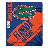 The Northwest Company Florida Gators 'Painted' Fleece Throw Blanket, 50' x 60' , Blue